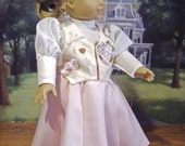 The Edwardian Gibson Girl 4 Piece Historical Outfit for American Girl Elizabeth, Rebecca, Cecile or Other 18 inch Dolls