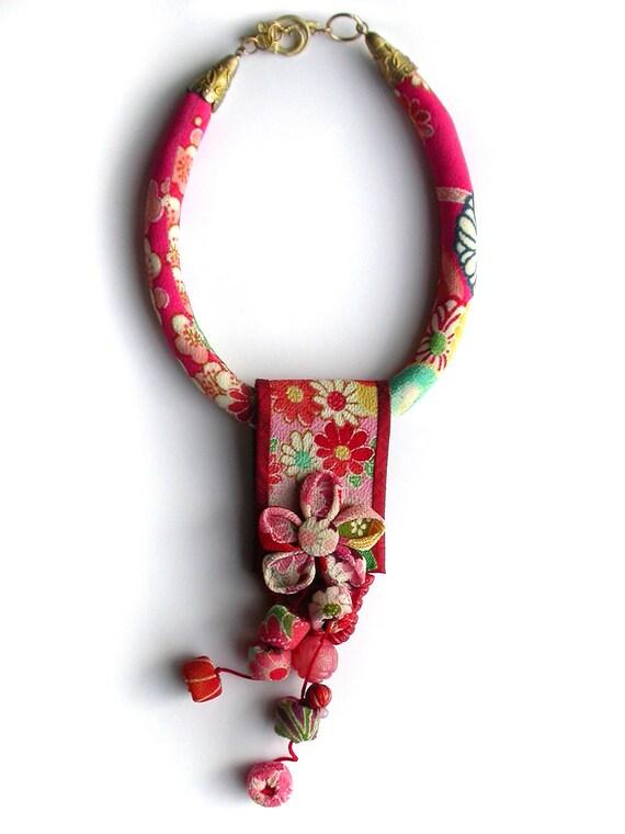Fabric Flower Earrings Diy