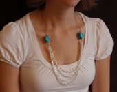 Stones and Strands Necklace