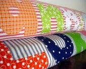 OOAK Scrappy Organic Personalized Baby/Toddler Blanket