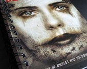 Black Dahlia Upcycled Blank Notebook Sketchbook Hot Off The Press NORGASWAP10