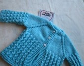 Lace Pattern in size 3 to 6 months Baby Sweater