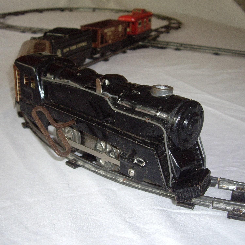 Vintage Train Set 121