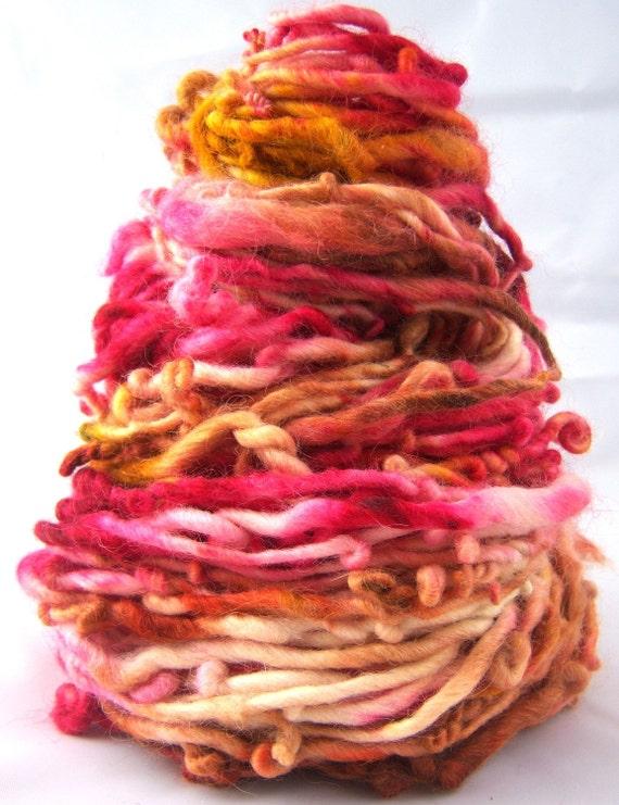Sundae Surprise HandSpun and Hand Dyed Yarn