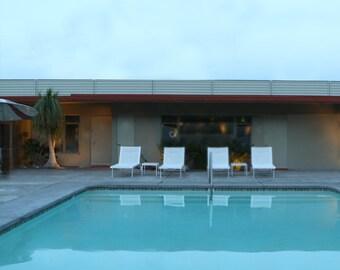 Swimming Pool Mid Century Swimming Pool