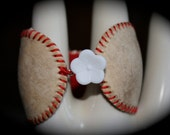 Vintage Recycled Baseball Bracelet