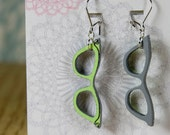 Neogranny Specs Earrings- Granny Chic Painted Wood