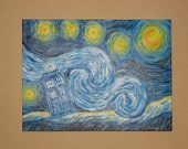 Starry Tardis Night