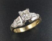 18K/Platinum Wedding Ring