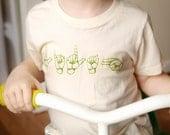 Personalized shirt, Sign Language Shirt, Personalized Name T Shirt,  Sign Language, Organic