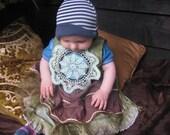 mandala heart faerie, fairy goddess childs dress.....  custom made