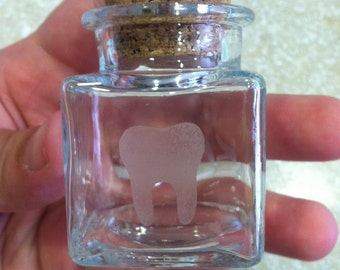 Personalized- Kids Tooth Fairy Jar