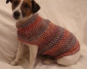 Crochet Pattern for Small Dog Coat - Small Dog Size - Permission to sell finished items