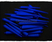 30pcs 2 inches (52mm) Blue Basketball Wives Spikes Charms Pendants Beads F474X