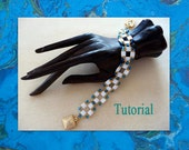 Add-Tila bracelet - Beading tutorial  - Original Design by Pat de Verre