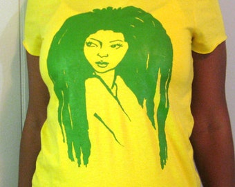 """The """"Lioness"""" Tee in Yellow & Green 24.99"""