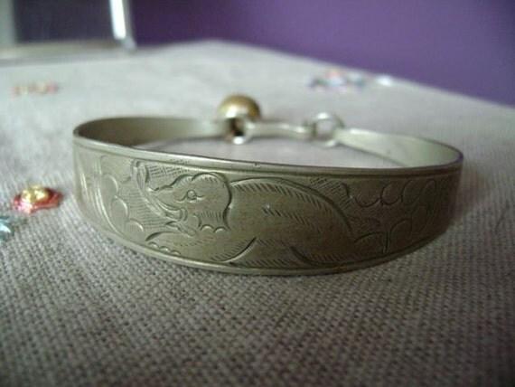 elephant bracelet from India