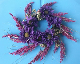 Darling Daisy Bouquet Mini Wreath