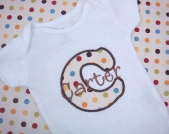 Baby Boy Clothes - Baby Boy Gift - Baby Boy Bodysuit - Personalized Baby Boy Shirt
