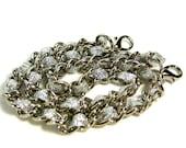 13 inch Nickel-free purse chain(TM) - Silver Sparkles
