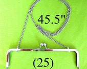 43% OFF 25 shoulder length 45.5 inch nickel-free purse chain(TM)