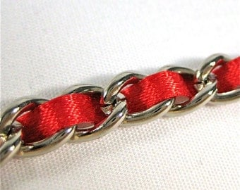 13 inch Nickel-free purse chain(TM) - Classic Red