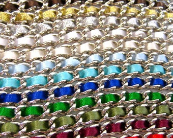 Set of (5) 13 inch Nickel-free purse chain(TM) - ANY COLOR