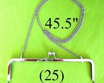 43% OFF 25 shoulder length 45.5 inch nickel-free purse chain(TM)