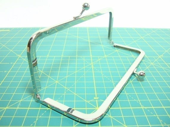 Set of (10) 8 in x 3 in Nickel-free metal purse frames with FREE shipping SALE SALE SALE