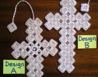 Hardanger Cross Bookmark