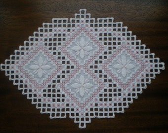 Spring Blossoms Hardanger Piece