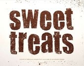 Sweet Treats - A Typographical Cookbook