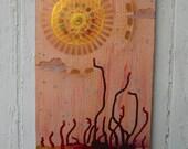 sun two - original painting