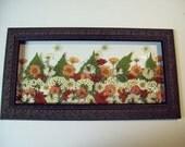 Real Pressed Flowers - Zinnia Wild Flower Garden