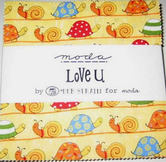 u last charm pack baby quilt fabric deb by