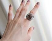Kalevala Koru Modernist Made in Finland 925 sterling vintage ring size 6.5