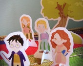 Harry Potter and Friends -DIY Printable Toys-