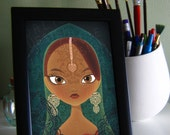 Beauty of India Portrait 5x7 Print
