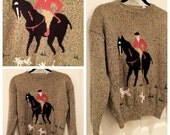 CLEARANCE /// Horsin' Around Sweater