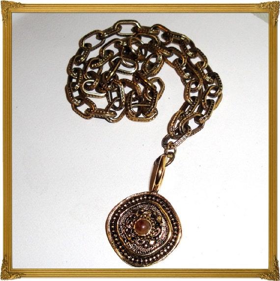 CLEARANCE /// Renaissance Necklace - Repurposed
