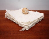 Pure linen flax paper, 8 x 10 inches