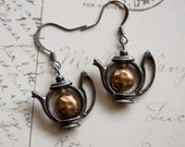 Teapot Earrings - SALE