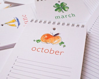 3 perpetual calendars- CELEBRATE birthdays and other special dates year after year