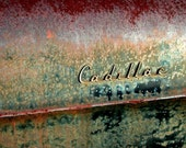 5 DOLLAR CLEARANCE SALE - Oxidized Beaty Vintage Cadillac - 8x10 High Quality Photo Print