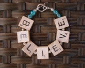 Personalized Scrabble Tile Bracelet