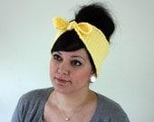 Bombshell Headband/Earwarmer - Butter