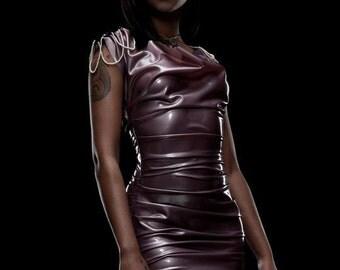 Pearled Mini Dress