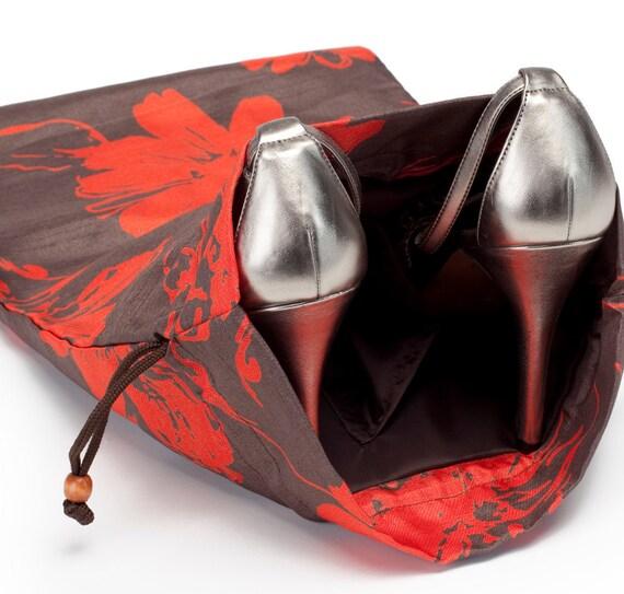Tahitian Bloom Shoe Bag