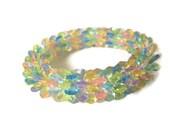 Pastel Starflake Bracelet - Beaded OOAK