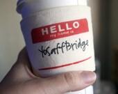 YoSafBridge cup cozy